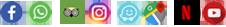יוטיוב נטפליקס מפות וייז אינסטגרם ווצאפ פייסבוק