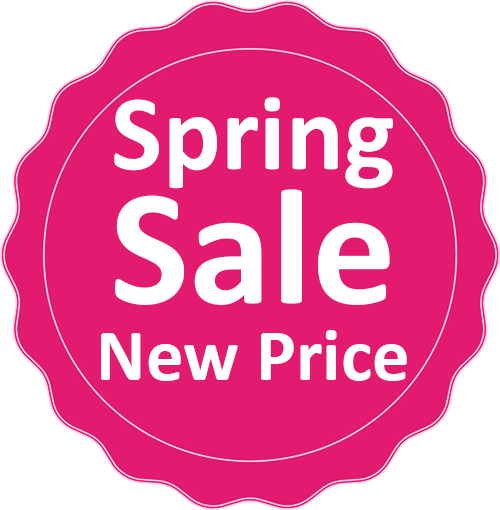 מחיר חדש Spring Sale New Price