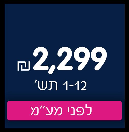 2299 שח ב1-12 תשלומים לפני מעמ
