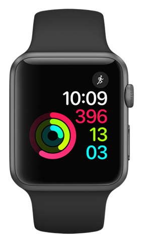 Apple Watch Series 1, 42mm Space Grey