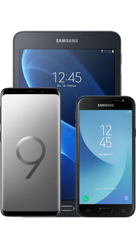 טריפל Samsung Galaxy S9 64GB בצבע אפור כולל J3 Pro ו Tab