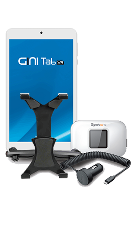 Gini4Car 2 Tab V7 with Gini Spot M1