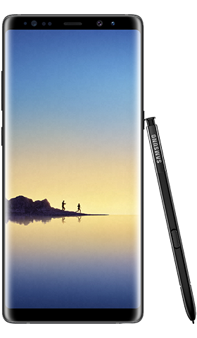 Samsung Note 8 Black