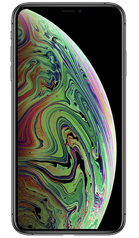 Kit iPhone XS Max 64GB Space Gray מלפנים